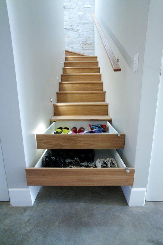 Shoe Stair Storage Cami Weinstein