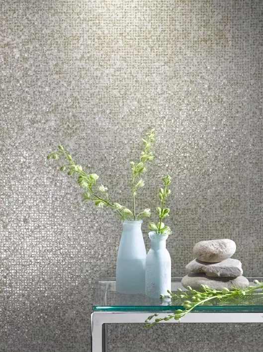 reflections wall covering