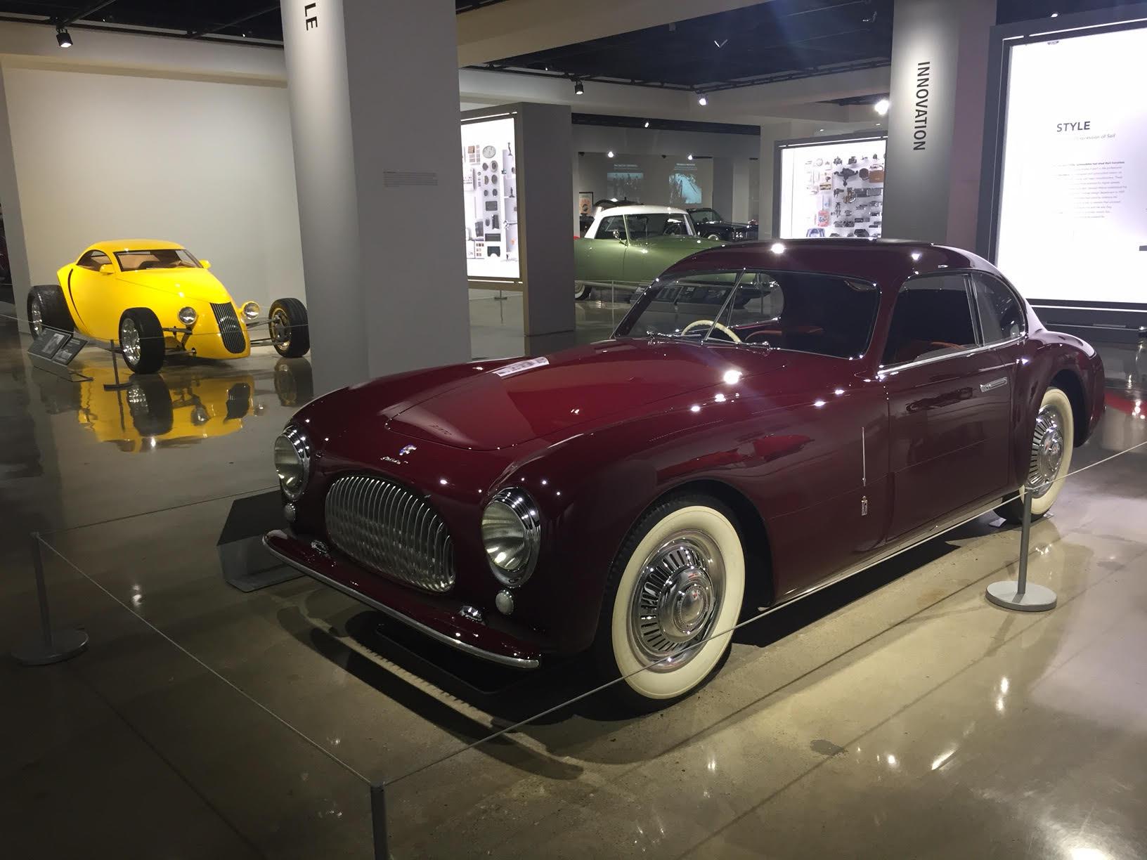 via Petersen Car Museum