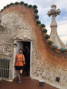 Cami Casa Batllo Rooftop