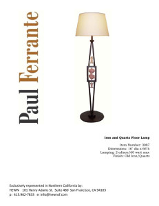 Iron-Quartz-Floor-Lamp